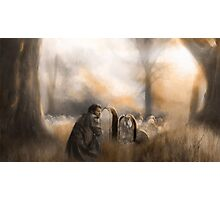 At Worlds End - Castiel Mourns  Photographic Print