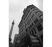 Monochrome Monument Photographic Print