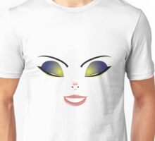 Facial Expression of Woman 3 Unisex T-Shirt