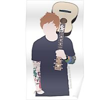 The singing Ginger Poster