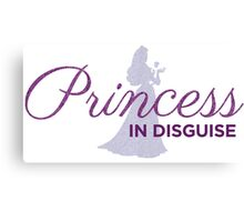 Princess In Disguise Canvas Print
