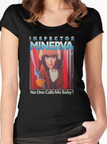Inspector Minerva tee Women's Fitted Scoop T-Shirt