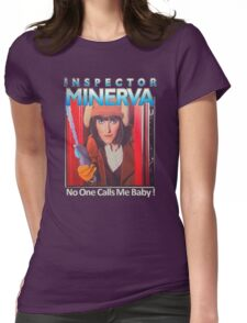 Inspector Minerva tee Womens Fitted T-Shirt