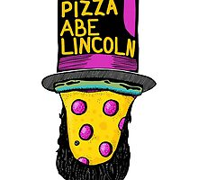 Disco Pizza Abe Lincoln by andrewsteger