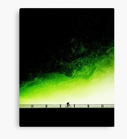 Toxic Fixie Canvas Print