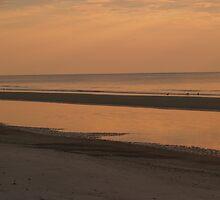 Serene Sunrise at Hunting Island by Anna Lisa Yoder