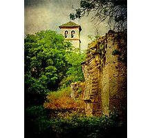 Granada canvas Photographic Print