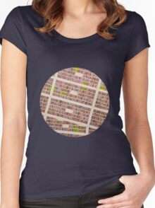 MEXICO CITY Women's Fitted Scoop T-Shirt