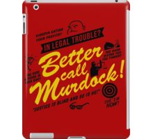 Better Call Murdock! iPad Case/Skin