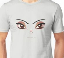 Facial Expression of Woman 5 Unisex T-Shirt