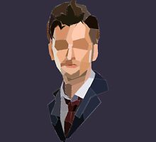 10th Doctor Polygons Unisex T-Shirt