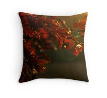 Burnished Oak Throw Pillow