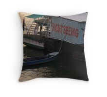 Sightseeing trips Throw Pillow