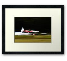 Low Flying Framed Print