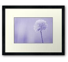 Chive(s) Framed Print