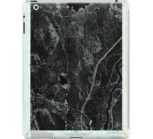 Maine USGS Historical Map Lincoln SW 806854 1975 24000 iPad Case/Skin
