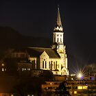 Annecy - Visitation basilica by night by Patrick Morand