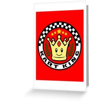 Kart King Greeting Card