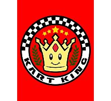 Kart King Photographic Print