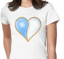 I LOVE WATER 2 Womens Fitted T-Shirt