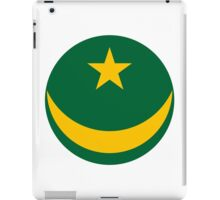 Roundel of the Mauritanian Air Force iPad Case/Skin