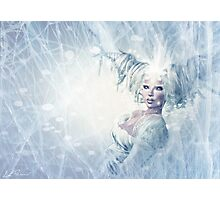 Snow queen 2 Photographic Print