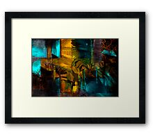 Barn Doors.. Framed Print