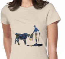 """Until Tomorrow"" Earth Picasso Bull Fighter Womens Fitted T-Shirt"