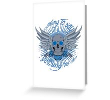 Nothing To Say, Nothing To Do Greeting Card