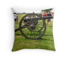 Canon at the Manassas Battlefield Throw Pillow