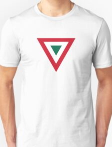 Roundel of the Mexican Air Force  Unisex T-Shirt