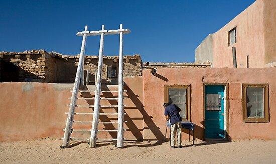 The Pueblo by Glennis  Siverson