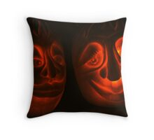 Bride and Groom Throw Pillow