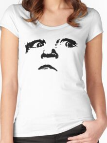 an evil child Women's Fitted Scoop T-Shirt