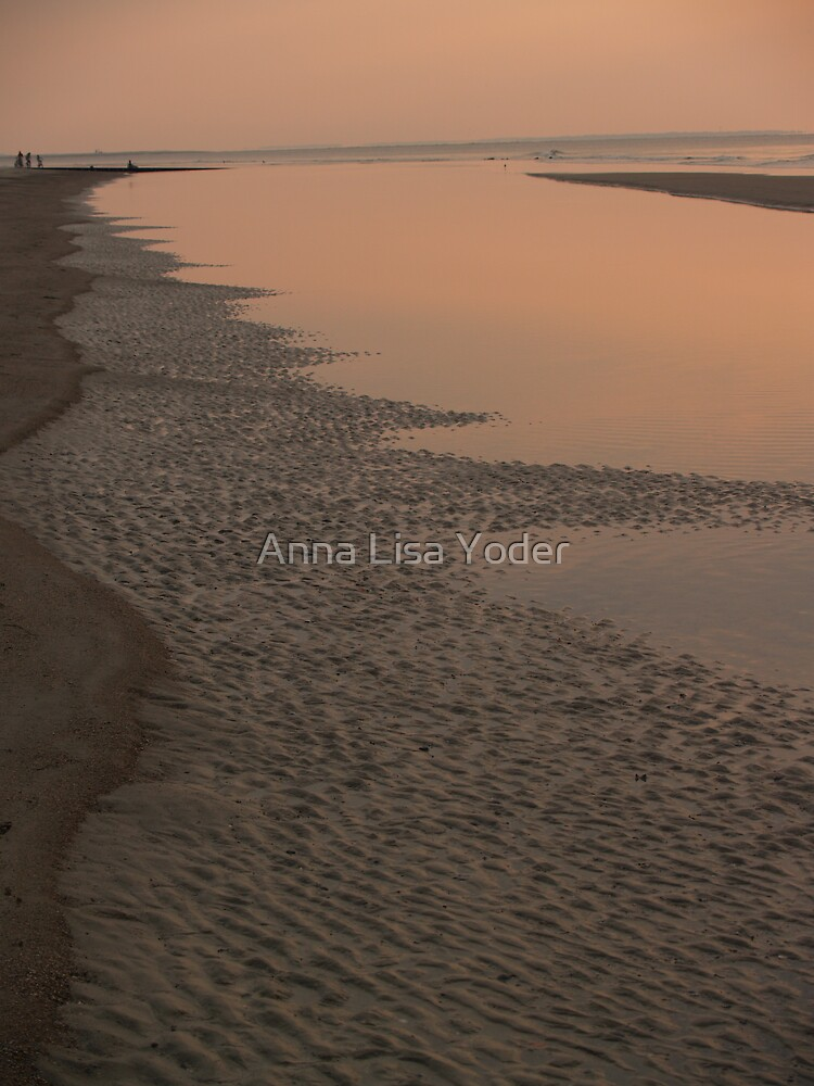 A Long Strand at Hunting Island by Anna Lisa Yoder