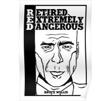 R.E.D - Retired Extremely Dangerous Poster