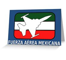 Logo of the Mexican Air Force Greeting Card
