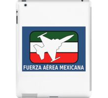 Logo of the Mexican Air Force iPad Case/Skin