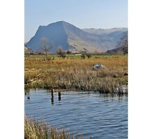 Fleetwith Pike From Buttermere - Lake District Photographic Print