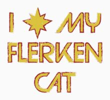 I Love My Flerken Cat Kids Clothes
