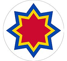 Roundel of the Moldovan Air Force  Photographic Print