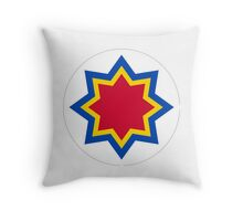 Roundel of the Moldovan Air Force  Throw Pillow