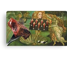Barbequed Barbie............ Canvas Print