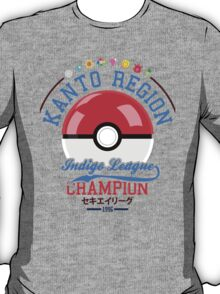 Kanto region champion T-Shirt