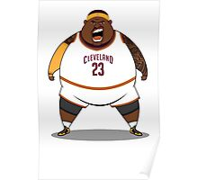 FATTTY Bron in Away Whites Poster