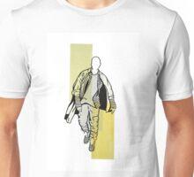 Minimalist Kanye Colorblock Illustration 2 Unisex T-Shirt