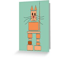 Inukshuk Cat Greeting Card