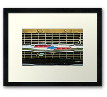 Chevy Grill Framed Print