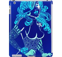 Blue Doll iPad Case/Skin