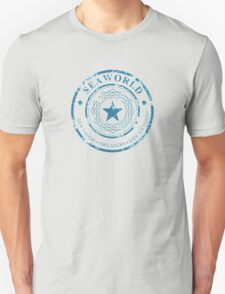 SeaWorld 3 Parks - Star Distressed Logo T-Shirt